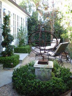 ~small garden space
