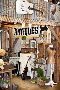 From Farm Chicks antique show.