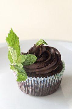 Vegan Gluten Free Sugar free Chocolate Cupcakes by TheGlutenFreeBakery