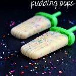 Un-Funfetti Pudding Pops