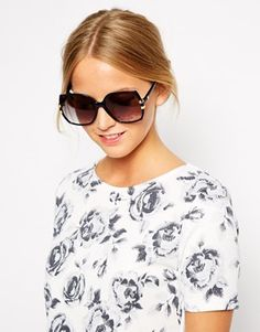 Jeepers Peepers Vintage Square Sunglasses