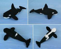 Amigurumi Orca Whale : Amigurumi Water Creatures on Pinterest Amigurumi ...