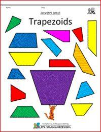 Trapezoids printables