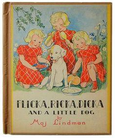 FLICKA RICKA DICKA  and a little dog.