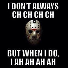 Ch ch ch ah ah ah, ha ha ha.