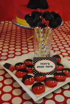 Oreo cookies Mickey Mouse party