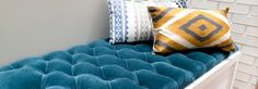 Deep Buttoned Boudoir Bench-ONLINE COURSE!! The next best thing to being there.