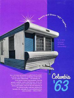 vintage mobile home ad