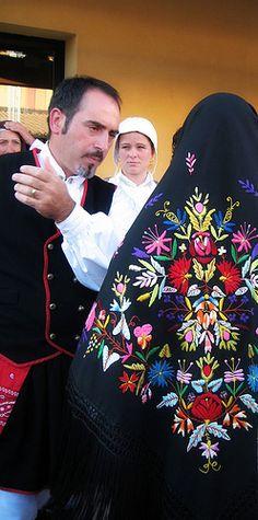 Sardinia,traditional costume