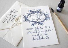 Calligraphy Inspiration: Linea Carta   Photo Credits: Linea Carta