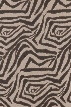 I saw a this Zebra Ikat Steel textile from Lacefield Designs on a recent trip to Manhattan in an upscale furniture store. Printed in the USA. www.lacefielddesigns.com