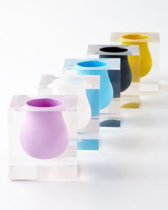 Bel Air Mini Scoop Vase by Jonathan Adler at Horchow.
