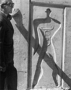 Le Corbusier - Modulor (photography: Lucien Hervé)