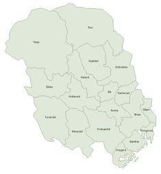 Telemark municipalities