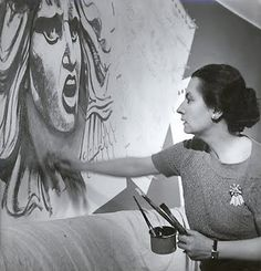 "Wall Speak: The Narrative Art of Hildreth Meiere.  aka ""The high priestess of art-deco murals."" Seen in Mosaic Art Now, February 6, 2012"