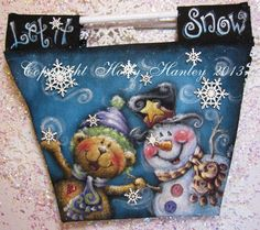 Let It Snow Bag By Holly Hanley