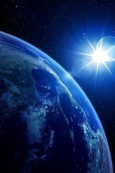 blue, planet earth
