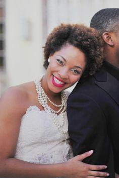 Bold Bridal Look