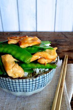 Chicken Snow Peas Stir-fry