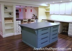 How cool Craft Room