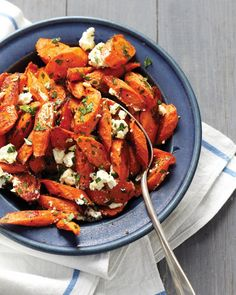 veggi, feta, roast carrot, side, food, eat, carrots, recip, parsley