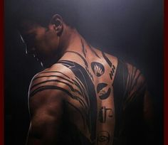 Love the tattoos! Theo James #Bedlam actor BirthdayDecember 16, 1984 Birth SignSagittarius