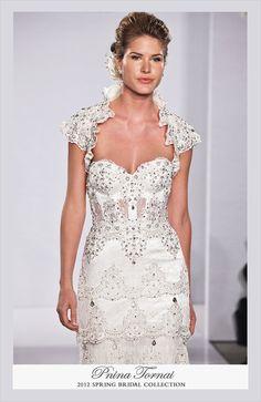 Pnina Tornai 2013 Coleção Noivas  - Maravilhoso!!! --------------------------------------------- http://www.vestidosonline.com.br/modelos-de-vestidos/vestidos-de-noiva