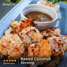 Baked Coconut Shrimp | Perfect for those nights when you crave the crunch but don't want to bother with frying. Healthier, too!
