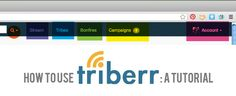 How to increase blog traffic using #Triberr – Setting Up *Tutorial *Repin