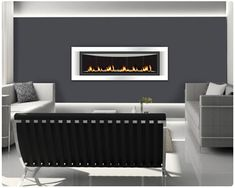 NAPOLEON LHD50 MODERN GAS FIREPLACE