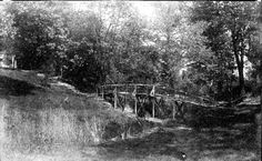 1863 Commemorate Lawrence – Footbridge across ravine