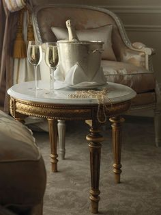 champagne and pearls