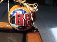 WEEK 1 (Oct. 12, 2012): Congratulations to Jeff Wilson for being this week's winner in our Pumpkin Decorating Contest. He won a special Hendrick Motorsports 200th NASCAR Cup wins poster and a No. 88 National Guard diecast.