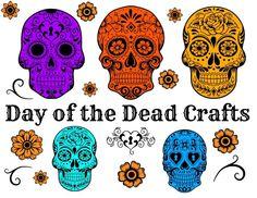 art blog, crafti, los muerto, de los, dia de, craft ideas, halloween, crafts, dead craft