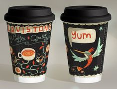 Takeaway Coffee Cup Design & Illustration