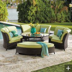 Pool House patio furniture.