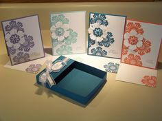 Stampin up mixed bunch card set