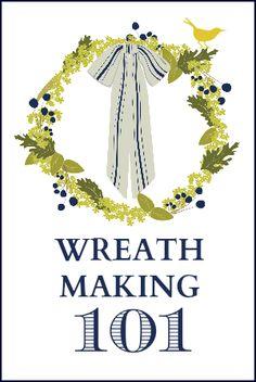 Wreath Making 101 How To Make A Wreath