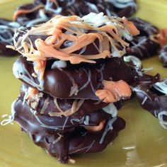 Chocolate Covered Pretzels With Coconut Oil