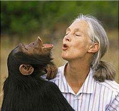 Jane Goodall is so inspiring!