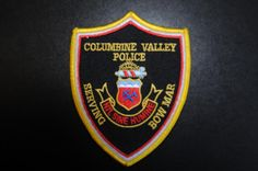 Columbine Valley/Bow Mar Police Patch, Arapahoe County, Colorado (Vintage)