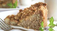 Sourdough Apple Coffee Cake