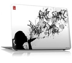 "Blow Fish by Nanami Cowdroy for the 13"" MacBook Air (2nd/3rd Gen.)"