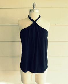 Wobisobi: No Sew, DIY Tee-Shirt Halter #2