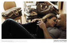 LV Core Values Campaign - Andre Agassi and Steffi Graf