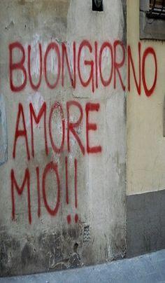 Italian:Good Morning My Love!!
