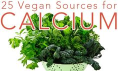 Dairy milk is NOT the only source of calcium out there