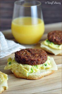 Vegetarian Breakfast Sandwich