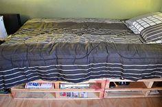 wood pallet furniture, pallet beds, pallet projects, bed frames, wooden pallets, platform beds, storage beds, wood pallets, storage ideas