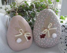 bunny & egg pillow